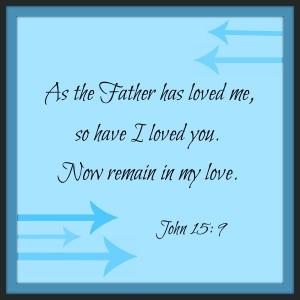 Remain. John.15:9